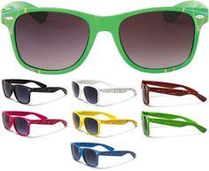Clash / Elvis Costello/ Wayfarer-Style Cheap Sunglasses- SPLATTER (Various Colors!).  All only $4.99