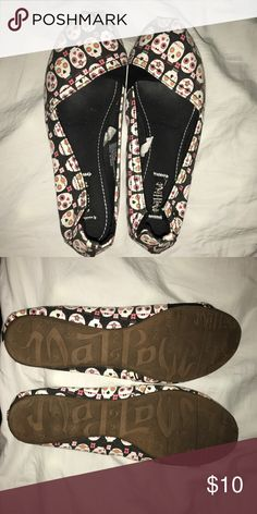 Skull flats from target size 10 Sugar skull flats from target. Madlove. Size 10. Worn once. Shoes Flats & Loafers