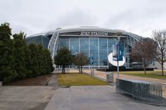 Outside of AT&T Stadium in Arlington, TX: Home of NFL's Dallas Cowboys and Dallas Cowboys Cheerleaders