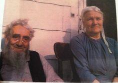 Elderly Amish couple