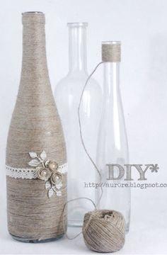 botellas decoradas y para decorar