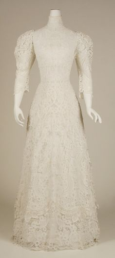 Cotton Afternoon Dress 1901, American