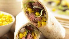 Easy steak wrap recipe | Health & Lifestyle | Yours