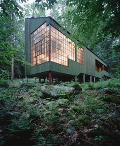 Forest House, Connecticut by Bohlin Cywinski Jackson