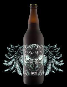 Obscuritas Dark Sour label, designed for Driftwood Brewery.   http://hiredgunscreative.com/portfolio/obscuritas-dark-sour/