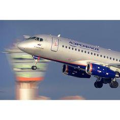 Aeroflot SSJ100 Superjet
