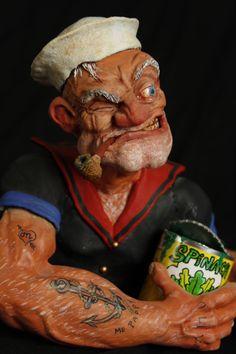 The Coolest Popeye Art (14 Pics)