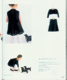 crochet cute dress for little girl.....but how can I get a pattern in English ?!