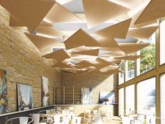 5 Creative And Inexpensive Ideas: False Ceiling Creative false ceiling design paint colors.Metal False Ceiling Dining Rooms false ceiling ideas for hall.False Ceiling Ideas For Hall. Cloud Ceiling, Fabric Ceiling, Ceiling Lights, Ceiling Ideas, Baffle Ceiling, Office Ceiling, False Ceiling Living Room, Ceiling Treatments, False Ceiling Design