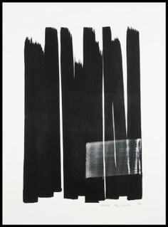 Toko Shinoda no other info is it hand painted ink or litho I cannot tell! Modern Art, Contemporary Art, Black And White Abstract, Black Ink Art, Japanese Artists, Minimalist Art, Art Design, Oeuvre D'art, Art Inspo