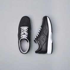 3ccf208b9ab A classic look on the #HOGAN #SS17 Men's #Interactive #sneakers Join the