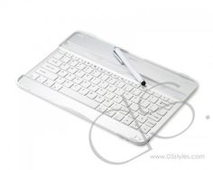Samsung Galaxy Note 10.1 N8000 Aluminum Cases with Bluetooth Keyboard - White  http://www.dsstyles.com/accessories/samsung-galaxy-note-10.1-n8000-aluminum-cases-with-bluetooth-keyboard-white.html