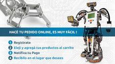 Necesitas Componentes Electrónicos? Hacé tu pedido Online, enviamos a todo el Uruguay!