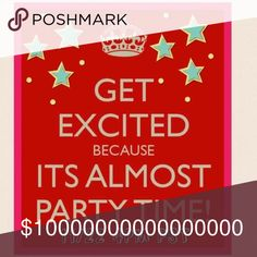 Hosting my 1st Party Please join me as I host the 4pm PST / 7pm EST party on Nov 30!!! Theme TBA.              Special thanks to @sweetsassyjilly for her help Bags