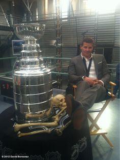 "David Boreanaz on ""Bones"""