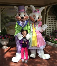 Easter Must-Dos at Walt Disney World - Meet the Easter Bunny (and Mrs. Easter Bunny, too) in the Magic Kingdom