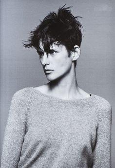 Stella Tennant by David Sims for V Magazine Fall 2010
