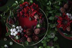 #플라워케이크#Koreariceflowercake#beanpasteflower#あんこフラワーケーキ#あんこケーキ#butterflowercake#christmas#크리스마스 #cakedesign#flowers#cakehouse&Lim #flowercookiecake #앙금플라워케이크#weddingcake#cakedecorating #米糕#韩国米糕#美食#杯子蛋糕#鲜花蛋糕#点心#甜点#beanpasteflower #フラワーケーキ#バターフラワーケーキ #韩国#裱花#豆沙裱花#韩式裱花#玫瑰#韩国裱花老师 Bean Paste, Gorgeous Cakes, Buttercream Cake, Cake Designs, Cake Decorating, Christmas Wreaths, Holiday Decor, Flowers, Flower Cakes