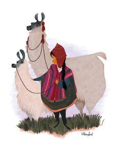 the peruvian girl by ~atofu on deviantART