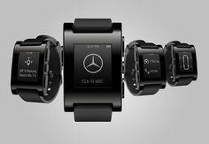 Mercedes Pebble Watch - Smartwatch