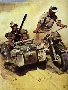Africa Corps Soldiers can you name the motorbike?
