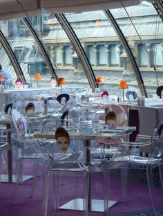 Kong restaurant, by Starck