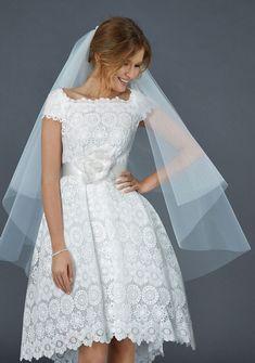 Modern chic short Atelier Eme Wedding Dresses 2016