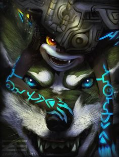 Legend of Zelda: Twilight Princess - Midna / Link by Zinrius.deviantart.com on @DeviantArt