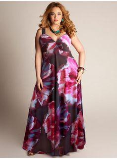 Nikki Plus Size Maxi Dress by IGIGI