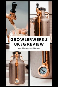 This growler lets you enjoy those beers just like you would if you ordered at the brewery or got it straight from the tap. | Best Beer Gifts for 2020, GrowlerWerks uKeg Pressurized Growler for Beer Review Pressurized Growler for Beer 40th Birthday Quotes, Birthday Gag Gifts, Wife Birthday, Birthday Images, Birthday Greetings, Happy Birthday, Gifts For Beer Lovers, Beer Gifts, Beer Tasting Birthday