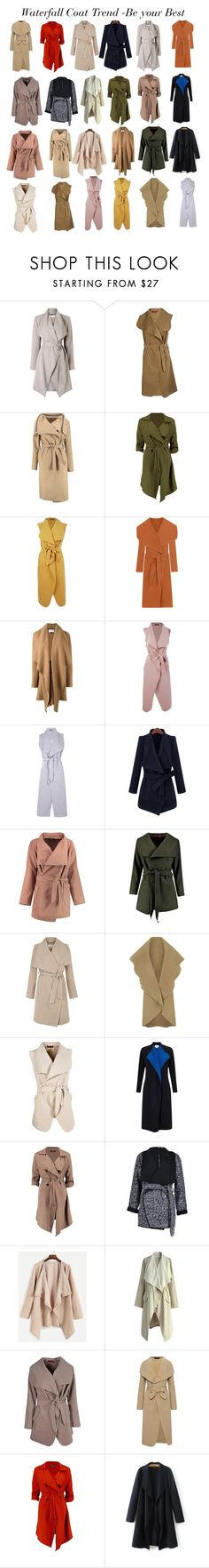 """Waterfall Coat  Trend"" by gabriela2105 ❤ liked on Polyvore featuring Jacques Vert, Boohoo, WearAll, Harris Wharf London, Hobbs, EAST and Chicwish"