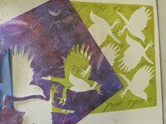 Sandra Pearce: Making Stencils for Monoprinting