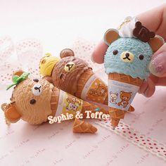 Hey, I found this really awesome Etsy listing at https://www.etsy.com/listing/162446956/re-ment-rilakkuma-ice-cream-charm