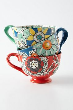 Elka Mug - anthropologie.com #anthrofave