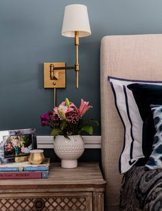 A Boston Condo Gets a Modern, Yet Traditional Makeover Bedroom Decor On A Budget, Small Room Bedroom, Small Living Rooms, Living Spaces, Teen Bedroom, Bedroom Ideas, Master Bedroom, Small Home Offices, Studio Apartment Decorating