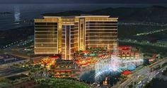 Die Tore des Wynn Palace in Macau sind geöffnet