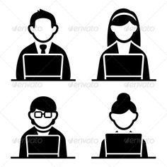 Programmer Icons Set  #GraphicRiver         Programmer man and woman icons set. Vector illustration.     Created: 10October13 GraphicsFilesIncluded: JPGImage #VectorEPS #AIIllustrator HighResolution: No Layered: No MinimumAdobeCSVersion: CS Tags: art #business #businessman #caricature #cartoon #communications #computer #designer #freelancer #geek #glasses #illustration #internet #job #laptop #male #man #nerd #occupation #office #person #professional #programmer #sitting #surfing #vector #web…