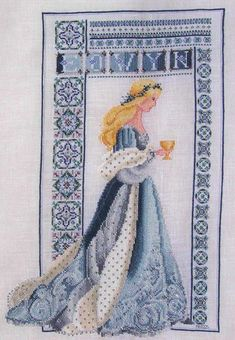 Lavender and Lace X Stitch | This is a conversion based on 'Celtic Autumn' (by Lavender & Lace). I ...