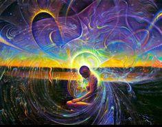 art trippy hippie psychedelic Psychedelic art Spiritual energy ...