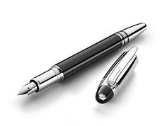 Carbon fiber makes everything better, right? That's the bet Montblanc is making with the new StarWalker Carbon fountain pen.