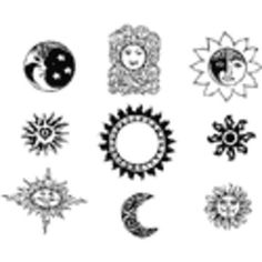 When it comes to the celestial tattoos, there are so many varieties to subject matter and meanings that they have a huge global audience. Celestial Tattoo, Unique Meaning, Some Body, Tattoos With Meaning, Meant To Be, Things To Come, Ink, Creative, Inspiration