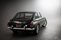 1967 MG MGB GT. Another great accessory. Had to sell her when our first baby came along:-(