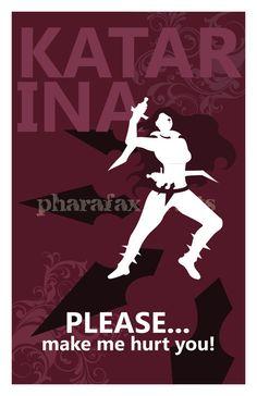 Katarina: League of Legends Print by pharafax on Etsy