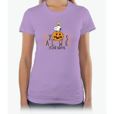 Snoopy - My First Halloween Infant Short Sleeve Women T-Shirt