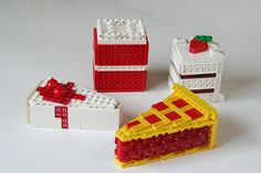Desserts by edubl31216, via Flickr. More great food ideas. The cherry pie is the best with the radar dishes