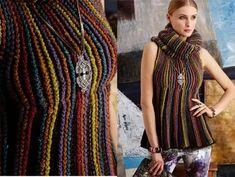 Вязание крючком и спицами: Вязаные модели Лето-Осень 2014 VOGUE knitting
