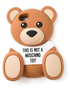 Shop Moschino Teddy bear iPhone 5/5s case in Gisa from the world's best independent boutiques at farfetch.com. Over 1500 brands from 300 boutiques in one website.