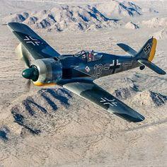AVIÕES MILITARES: Focke-Wulf Fw 190 Würger