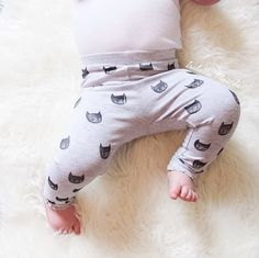 Items similar to Cats Hand Printed Girls Leggings - baby leggings, toddler leggings, girls pants, isabellamaide on Etsy Toddler Leggings, Baby Leggings, Girls Leggings, Girls Pants, All Things Cute, Baby Style, Inspirational Gifts, Style Guides, Little Ones