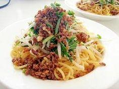 すぐできる 肉そぼろのせ中華麺 台湾風まぜそば